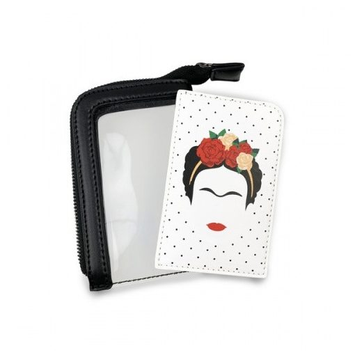 Frida Kahlo Minimalist kártyatartó