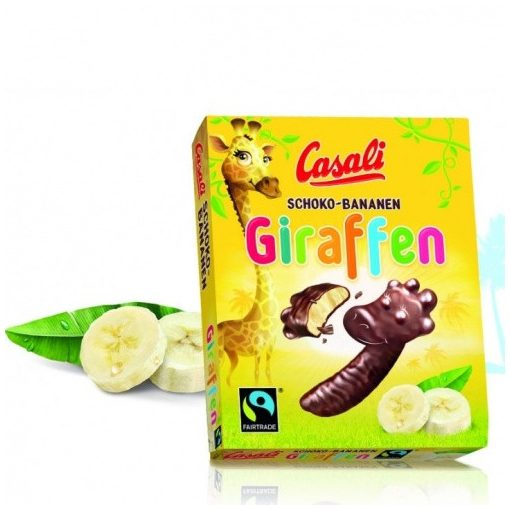 Casali Schoko Giraffen - banán ízű Zsiráfos